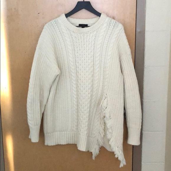a7d8314ea1888f ... knit sweater with fringe side slit. J. Crew.  M_5c0d74dd6a0bb74aab058b28. M_5c0d750ef63eea2150548d16.  M_5c0d751f035cf1b673a8d7f7